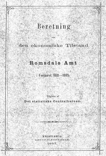 XV. - Romsdal Sogelag