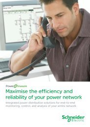 Download the PowerStruxure brochure (.pdf 2 ... - Schneider Electric