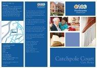 Catchpole Court Brochure - Four Seasons Health Care