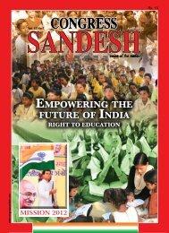April 2010 - Congress Sandesh