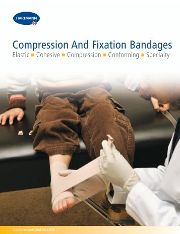 Compression And Fixation Bandages - Hartmann-Conco