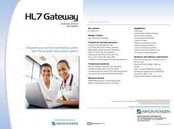 QP-993PK HL7 Gateway Server - Nihon Kohden