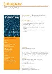 Themenschwerpunkte 2008: - Verlag Freies Geistesleben