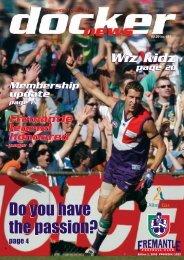 FD05c Docker News 01-REV - Fremantle Football Club