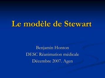 Le modèle de Stewart