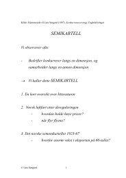 SEMIKARTELL - Fagbokforlaget