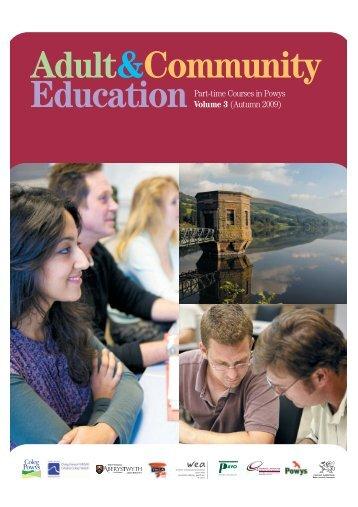 Volume 3 - Coleg Powys