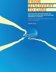 From Discovery to Cure - NIMH - National Institutes of Health