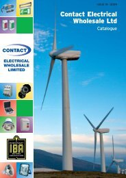 30Year Guarantee - Contact Electrical Wholesale Ltd