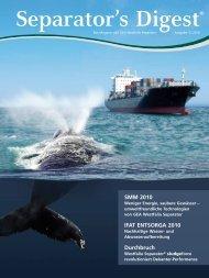 Separator's Digest 2010/3 - GEA Westfalia Separator Group