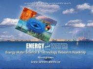 Mike Hightower, Sandia National Laboratories - Circle of Blue