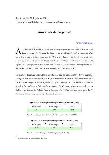 Pernambuco - Comunidade Segura