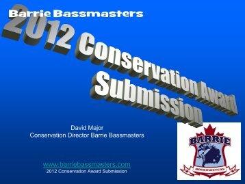 Barrie Bassmasters