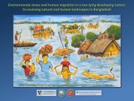 Environmental stress and human migration in a low-lying ...