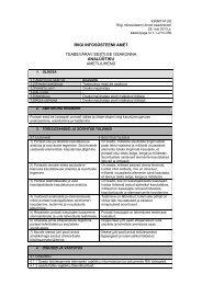 Ametijuhend - Riigi Infosüsteemi Amet
