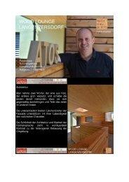 """""""Wood Lounge Langenzersdorf"""" Atos Architekt DI Schuller -Teil I"""