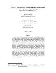 Foreign Currency Debt, Financial Crises and Economic Growth: A ...