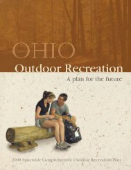 download SCORP book - Ohio Department of Natural Resources