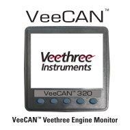 VeeCAN 320 VEM Manual - Veethree Instruments