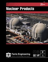 Nuclear Products - Farris Engineering - Curtiss Wright Flow Control