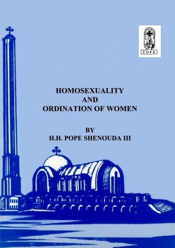 , ORDINATION OF WOMEN - Saint Mary Orthodox Church
