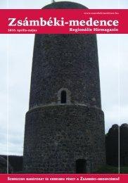 2010 ÁPRILIS-MÁJUS PDF-ben letölthető - Zsámbéki-medence