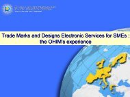 Trade Marks and Designs Electronic Services for SMEs