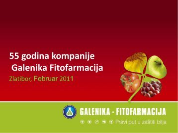 55 godina kompanije Galenika Fitofarmacija - NS seme