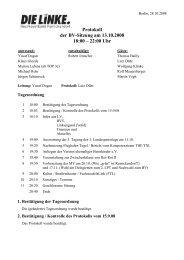 Protokoll der BV-Sitzung vom 13.10.2008 (pdf) - Reinickendorf