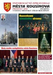 Zpravodaj z 11.12.2010 - Rousínov