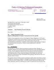 Frank J. E. Zechner Professional Corporation - rccao