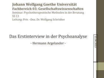Präsentation - Wolfgang Schrödter
