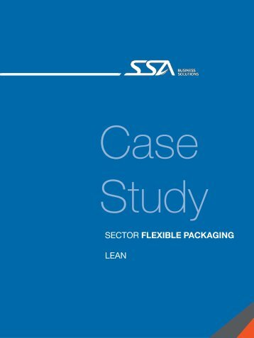 SECTOR FLEXIBLE PACKAGING LEAN - SSA Solutions