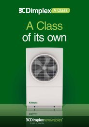 Dimplex A Class - RIBA Product Selector