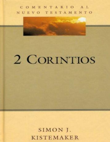 2 Corintios, de Simon-J-Kistemaker