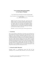 E-Government Information Quality: A Case Study of ... - SIT - kmutt