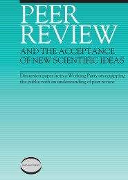 Peer Review - Sense About Science