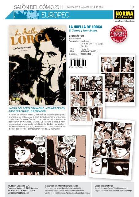 Pdf Salon Del Comic Norma Editorial