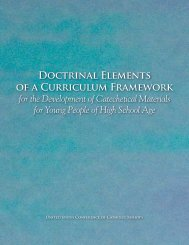 Doctrinal Elements of a Curriculum Framework for the Development ...