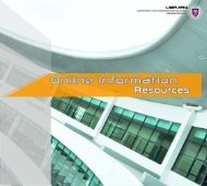 Online information resources - UTHM Library - Universiti Tun ...