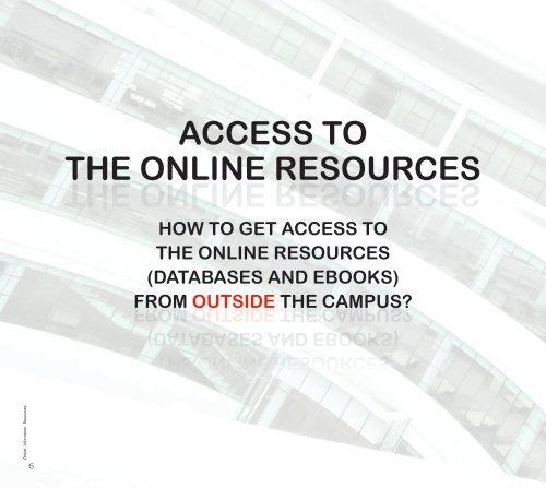 Online information resources - UTHM Library - Universiti Tun ...