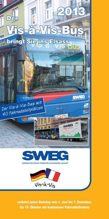 Vis-à-Vis-Bus 2013 - SWEG