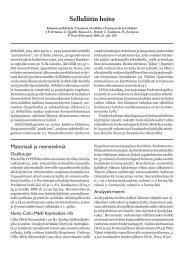 Selluliitin hoito - Alaset Import
