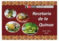 Recetario de la Quinua