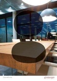 Customized Furniture Broschüre - Girsberger