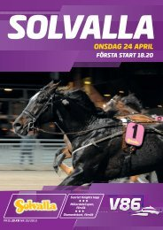ONSDAG 24 APRIL - Solvalla