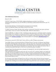 here to see the summary of changes, and revised ... - Palm Center