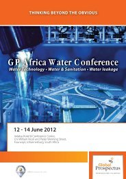 GP Africa Water Conference - Aquaknow