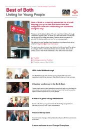 Best of Both is a monthly newsletter for all staff ... - The Prince's Trust