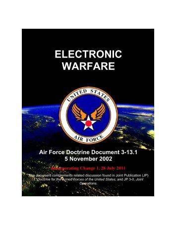 ELECTRONIC WARFARE - GlobalSecurity.org